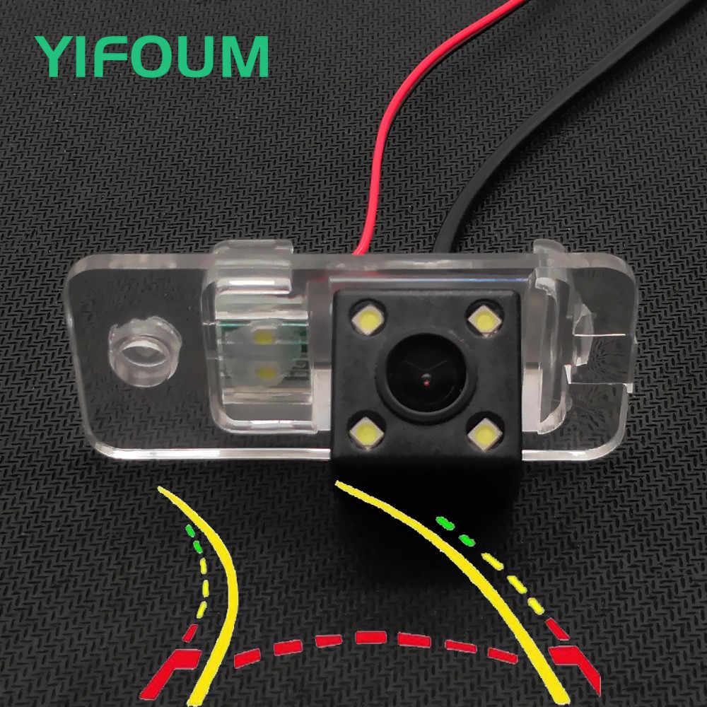 YIFOUM Trajectoire Dynamique Pistes Voiture Caméra de Recul Pour Audi A3 S3 8 P/A4 S4 B5 B6 B7 8E 8 H/A6 C6 S6 RS6/Q7 SQ7 4L/S5 A6L A8