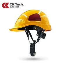 CK Tech. Защитный шлем ABS+ PC электрик строительные работы крышка изоляция анти низкотемпературные шлемы высокопрочный жесткий шлем