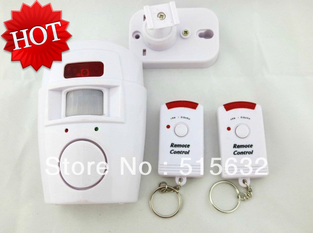 105dB Security font b Alarm b font Siren with IR Motion Detector and Dual Arm