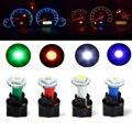Qook 10 Компл. Авто DC 12 В 0.2 Вт T5 5050 SMD Приборной Панели Тире Свет Лампы Держатель белый Цвет  светодиодные лампы для авто