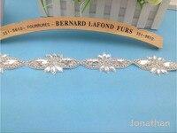Hot koop Wedding lace Riem Bridal Strass Sjerp, Trouwjurk Sash, bruids Strass Riem, Bruidsjurk Accessoire