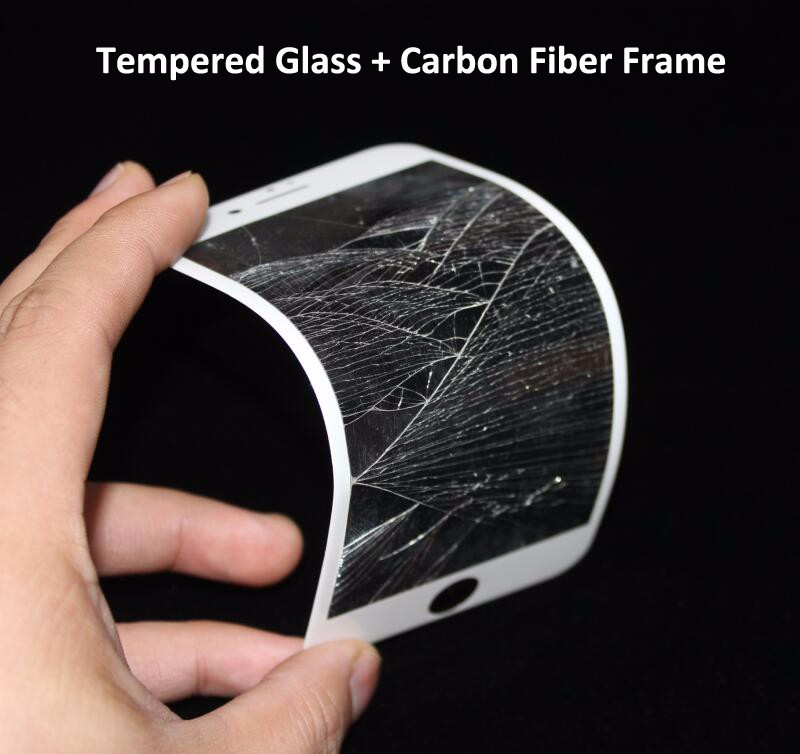 iphone 7 tempered glass carbon