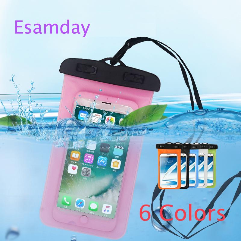 Universal Swim Waterproof Underwater Phone Case Bag For IPhone X XS MAX 6 7 6s 8 Plus 5 5s SE For Galaxy S8 S7 Huawei Xiaomi