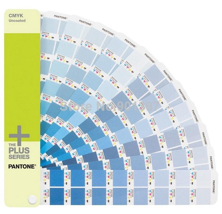 2 Books / Set 2868 Pantone Colors Pantone CMYK C/U Color Guide GP5101