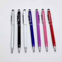 High Quality Wholesale stationery stylus pen  promotional gifts customized logo free 10pencils a lot