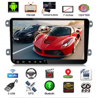 Android 8.1 Car Radio Stereo GPS Navigation MP5 Player 9 inch Touch Screen 16G Bluetooth For VW Polo Passat b6 touran jetta etc