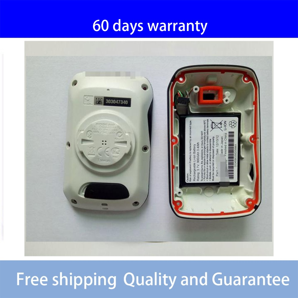 2.2'' Inch Rear Cover For GARMIN EDGE 510 510J Bicycle Speed Meter Back Cover With Battery Repair Replacement White Colour
