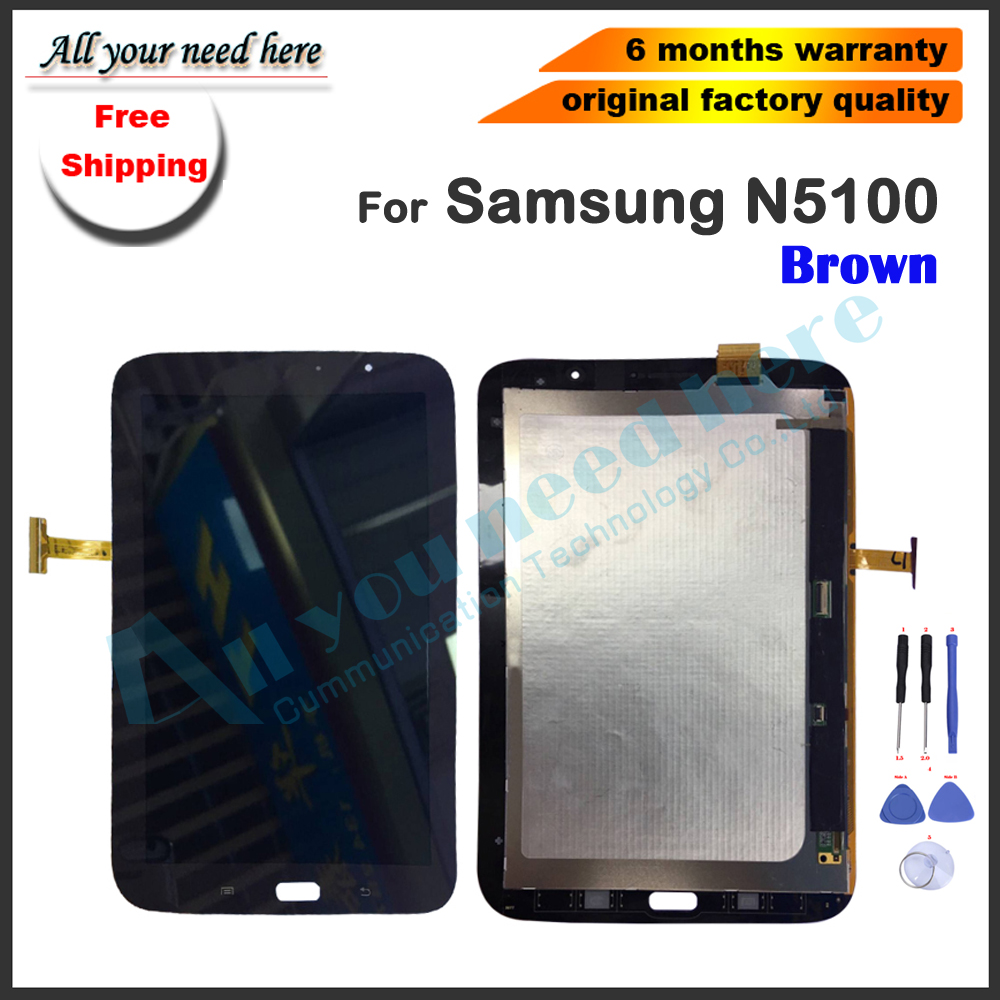LCD screen For Samsung Galaxy Note 8 GT-N5100 N5100 Touch Screen Panel  Digitizer Glass+LCD Display Monitor Assembly+toolsLCD screen For Samsung Galaxy Note 8 GT-N5100 N5100 Touch Screen Panel  Digitizer Glass+LCD Display Monitor Assembly+tools