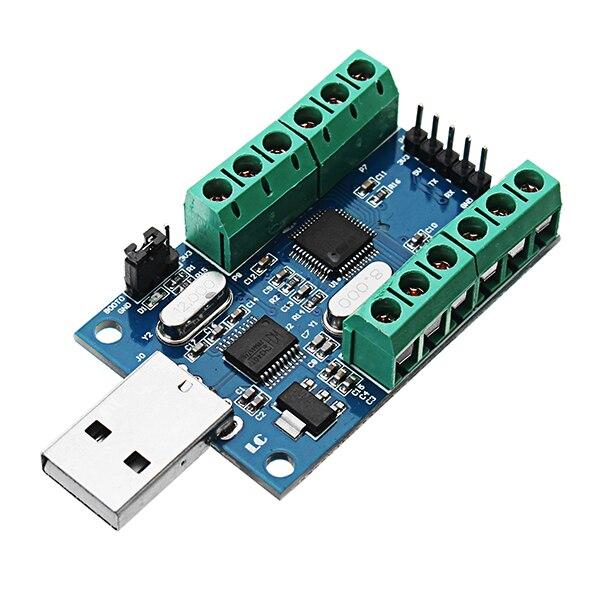 USB Interface 10 Channel 12Bit AD Sampling Data Acquisition STM32 UART Communication ADC Module