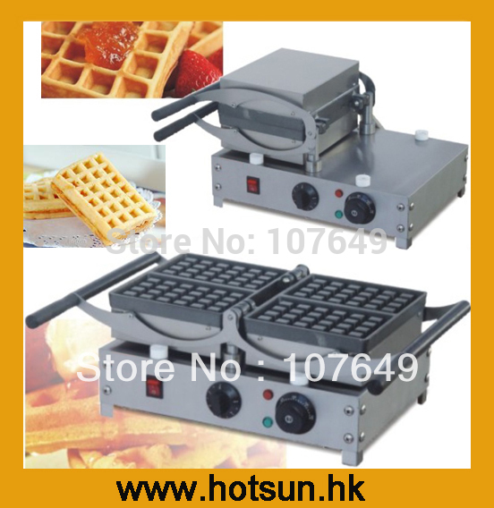 110V  220V Rotating Electric Belgian Liege Waffle Baker Maker Machine Iron rotating 220v electric belgian waffle baker liege waffle maker machine iron