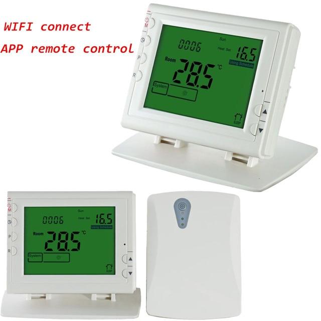 WIFI Drahtlose Programmierbare thermostat für Elektrische/Wasser ...