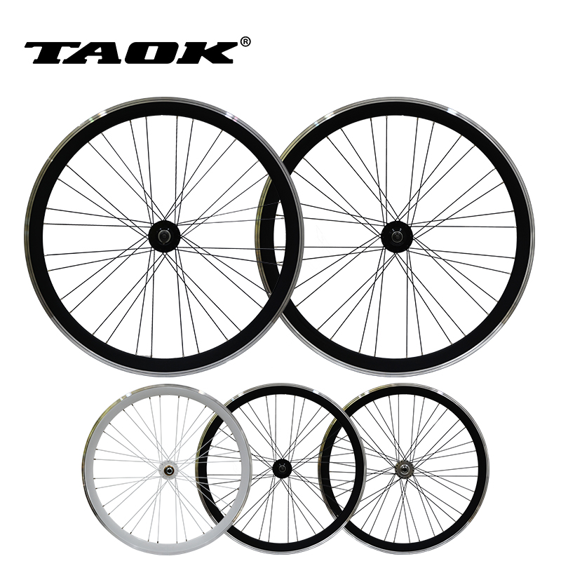 fixed gear bicycle wheel set 40mm V brake bicycle wheel 700C wheel bicycle