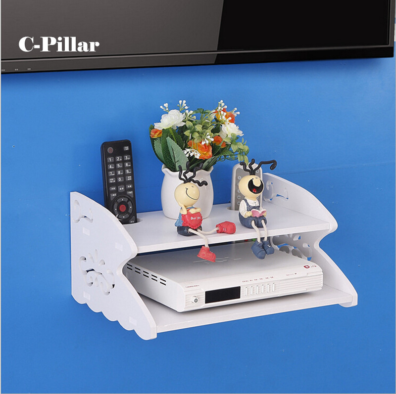 Hot Hollow Digital Tv Set Top Box Fire Resistance Shelf