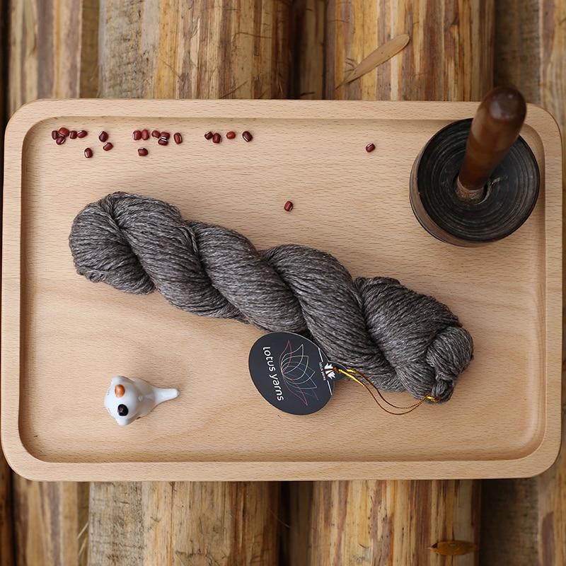 5 50g hank 50 Silk 50 Yak Hand Knitting Yarn Undyed Yarn Free Shipping