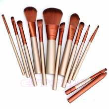 [ZhuoShiNa] Makeup 12pcs Cosmetics Brushes Set Powder Foundation Eyeshadow Lip Brush Tool