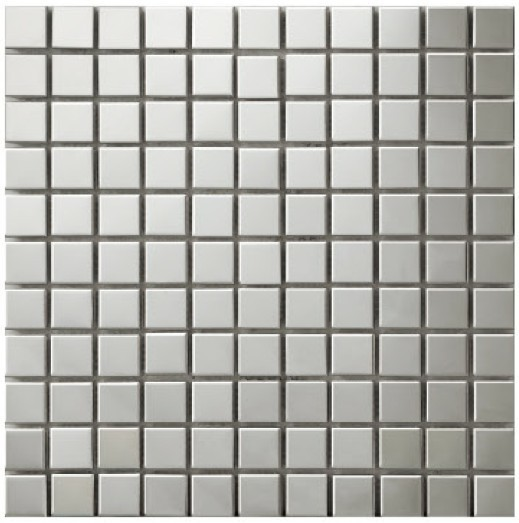 buy hot sale square metal mosaics stainless steel tile bathroom floor kitchen. Black Bedroom Furniture Sets. Home Design Ideas