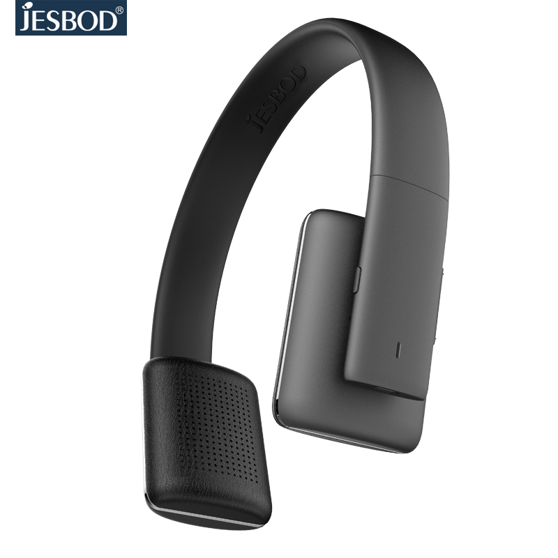 Jesbod Bluetooth Headphone Wireless Stereo Headsets earbuds earphone Mic for iPhone Samsung