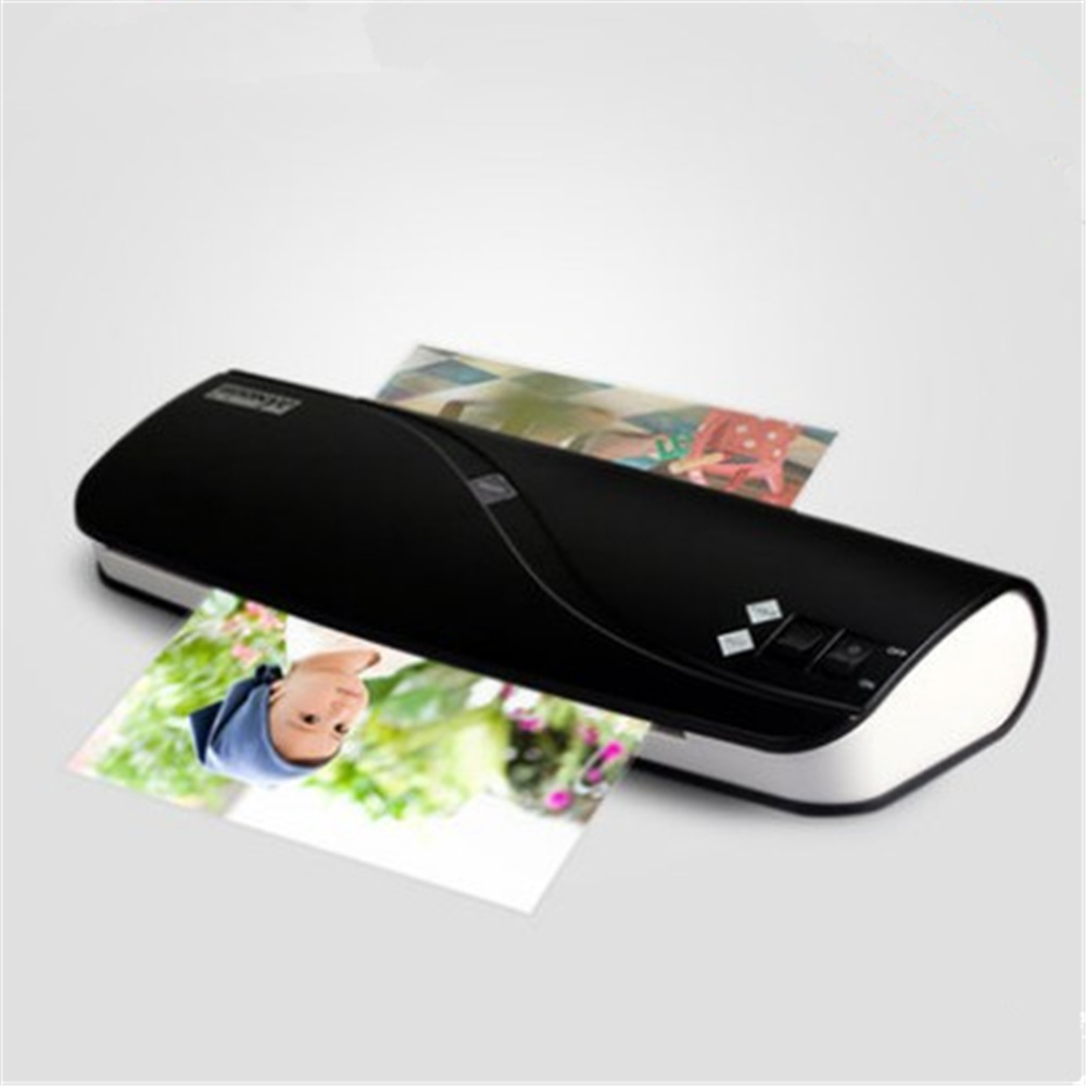 A4 Photo Laminator Paper Film Document Thermal Hot&Cold Laminator A4 Laminating cewaal cla402 a4 document photo hot