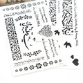New Temporary Tattoos Sticker 10pcs/lot Arabic Tattoo Body Waterproof Arm Chest Tattoos RF