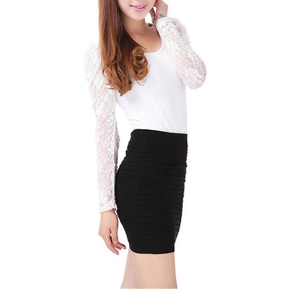 Womens Office Skirt Casual Mini Pencil Skirt Ol Skirt