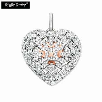 Locket Heart Pendant,Thomas Style Glam Jewelry Good Jewerly For Women,2017 Ts Gift In 925 Sterling Silver,Super Deals