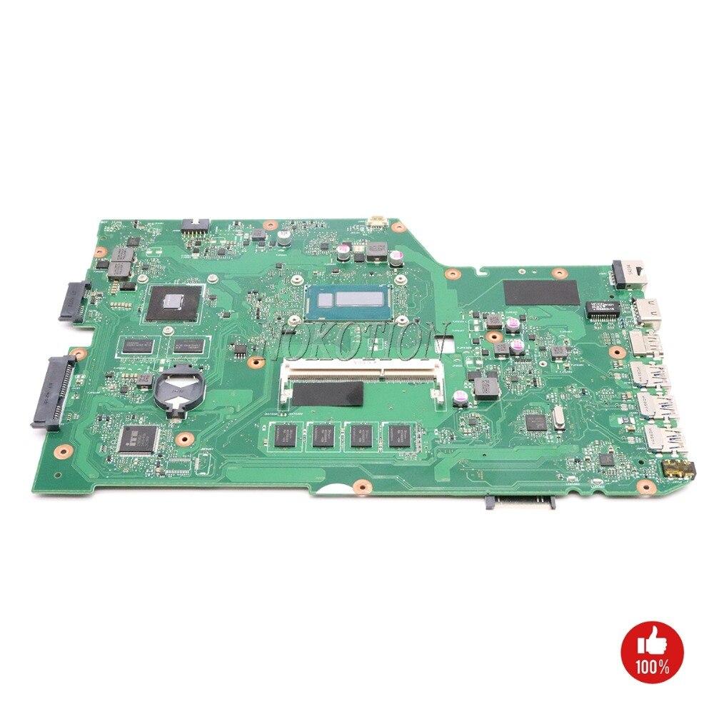 NOKOTION для asus X751L K751L K751LN X751LK X751LD основной плате материнской платы ноутбука REV 2,0 NVIDIA 820 м SR16Q I3 4010U