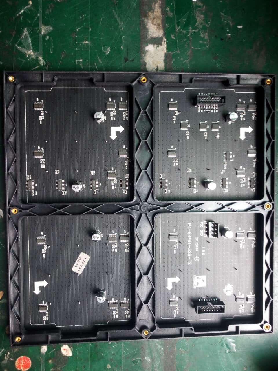 64x64 Indoor RGB Hd P4 Indoor Led Module Video Wall High Quality P2.5 P3 P4 P5 P6 P7.62 P8 P10 Rgb Module Full Color Led Display