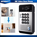 Two-way Intercom SIP Video Doorbell Phone for Front Gate IP65 Protection Class