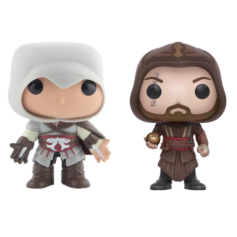 Assassin Creed Ezio Vinyl Action & Toy Figures Children Toys Doll 4 10cm майка print bar assassin s creed ezio collection