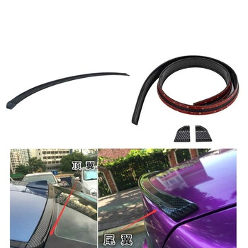 Car Carbon Fiber Rear Spoiler Wing for BMW E46 E39 E90 E60 E36 F30 F10 E34 X5 E53 E30 F20 E92 E87 M3 M4 M5 X5 X6 Accessories image