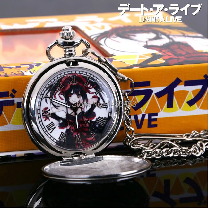 Date A Live pocket watch necklace cosplay props accessories