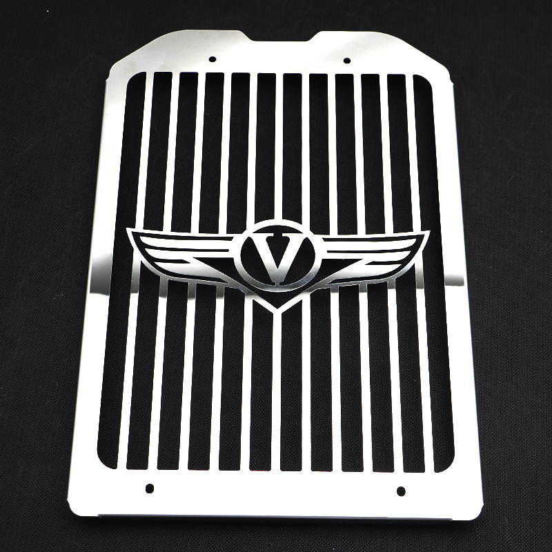 Motorcycle Skull Thicken Inlay Radiator Grill Cover Guard Protector For Kawasaki Vulcan VN1500 VN1600 Mean Streak