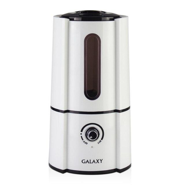 Увлажнитель воздуха Galaxy GL 8003 (Мощность 35 Вт, резервуар для воды 2,5 л, регулировка скорости, автостоп)