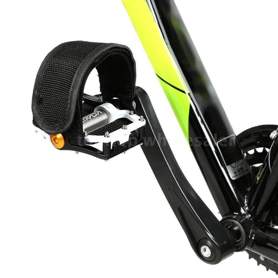 1PCS Bicycle Bike Pedal Bands Feet Foot Toe Clip Road Straps Binding Fixed S9J5