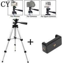 三脚電話のカメラ三脚 + ホルダーiphone 8 8 プラスios android携帯ミニ三脚胃袋ゴリラポッドスタンド