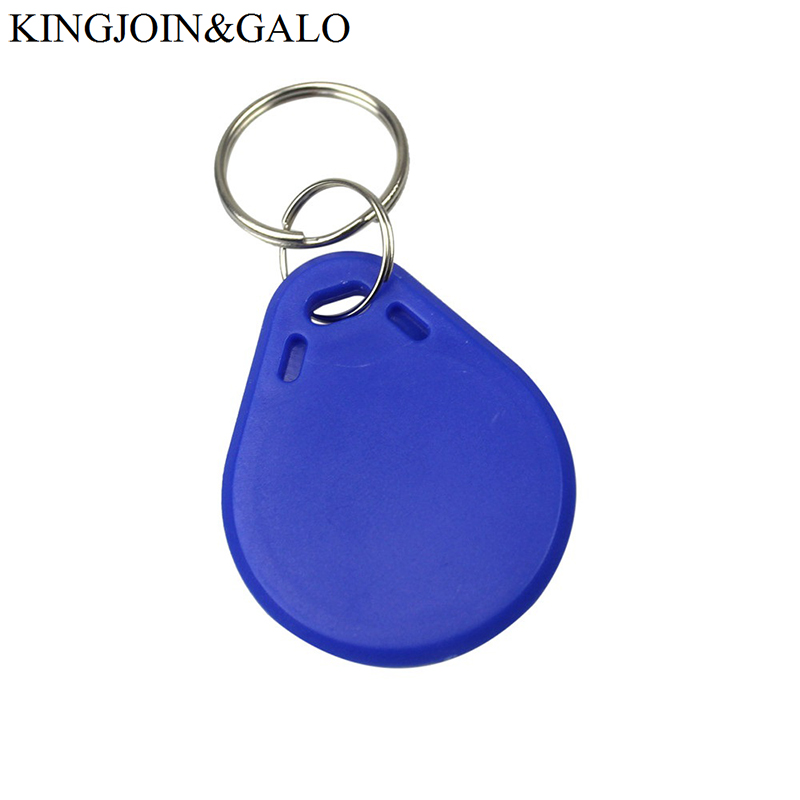 цены 50pcs/Lot Waterproof ABS RFID Frequency 13.56mhz Re-writable Keychains/keyfobs for Registration Certification Access control