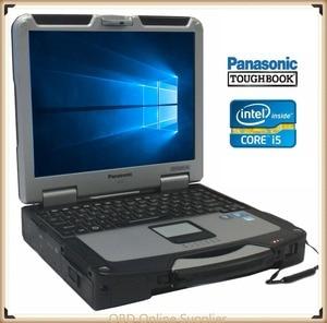 Image 1 - Panasonic Toughbook MK2 CF 31 çekirdek i5/RAM 4gb askeri sınıf tam sağlam dokunmatik yıldız C3/C4/C5 Icom A2 yeni alldata
