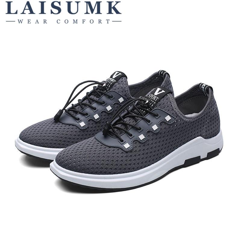 2018 LAISUMK Casual Sneakers Masculino Tenis Venta Caliente - Zapatos de hombre - foto 5