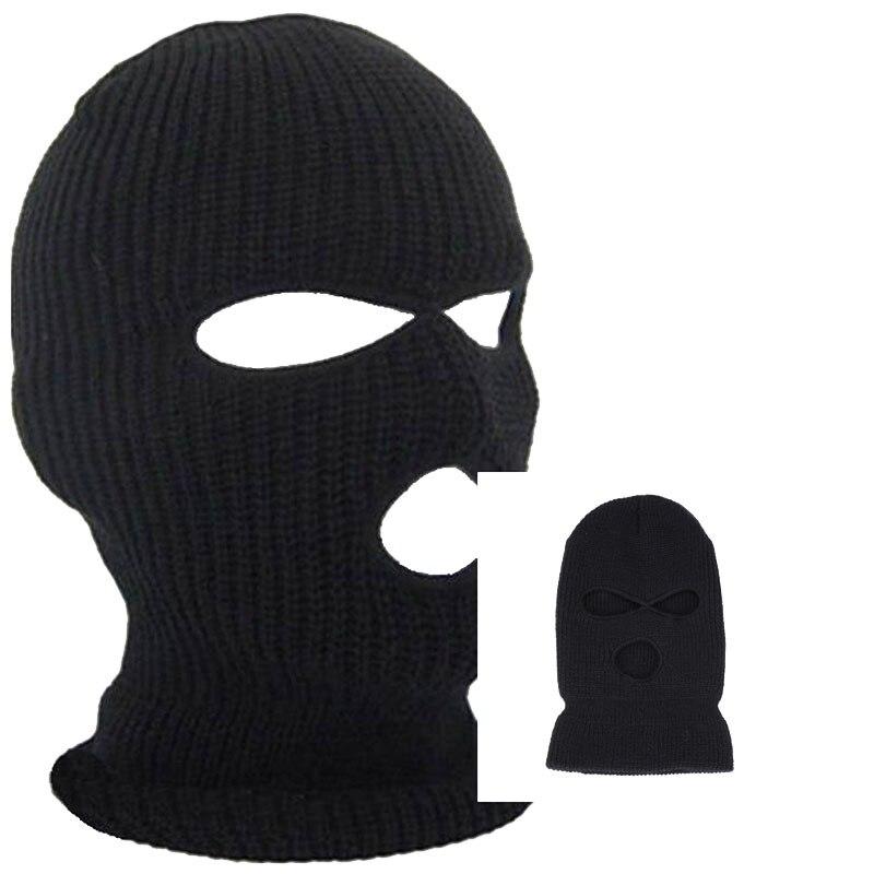 Droppshiping открытый Балаклава Полное покрытие лица маска грабитель крутые вязаные шапочки для мужчин голова шеи Балаклава для велоспорта вело...