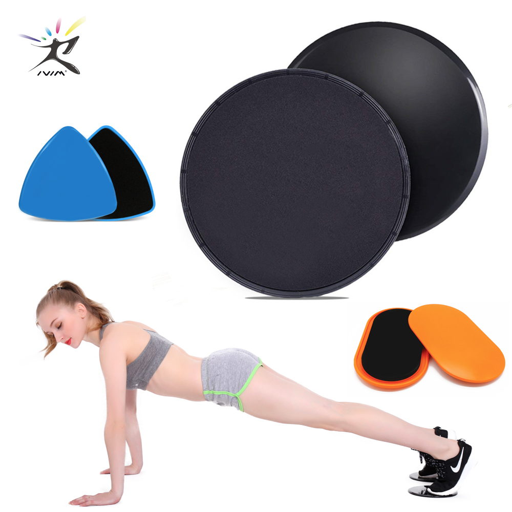 Discs Slider Fitness Discs Slide Exercise Training Pilates Disc Crossfit Glide Slider Disc Core For Yoga Workout Gym Accessories Sports & Entertainment