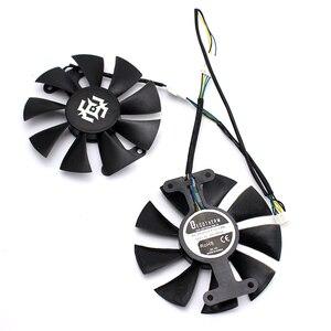 Image 3 - Nova 85mm 4Pin Ventilador Cooler Fan Substituir Para ZOTAC GTX1060 6 GB GTX1050 GTX1050Ti GTX 1060 Placa Gráfica Arrefecimento fã