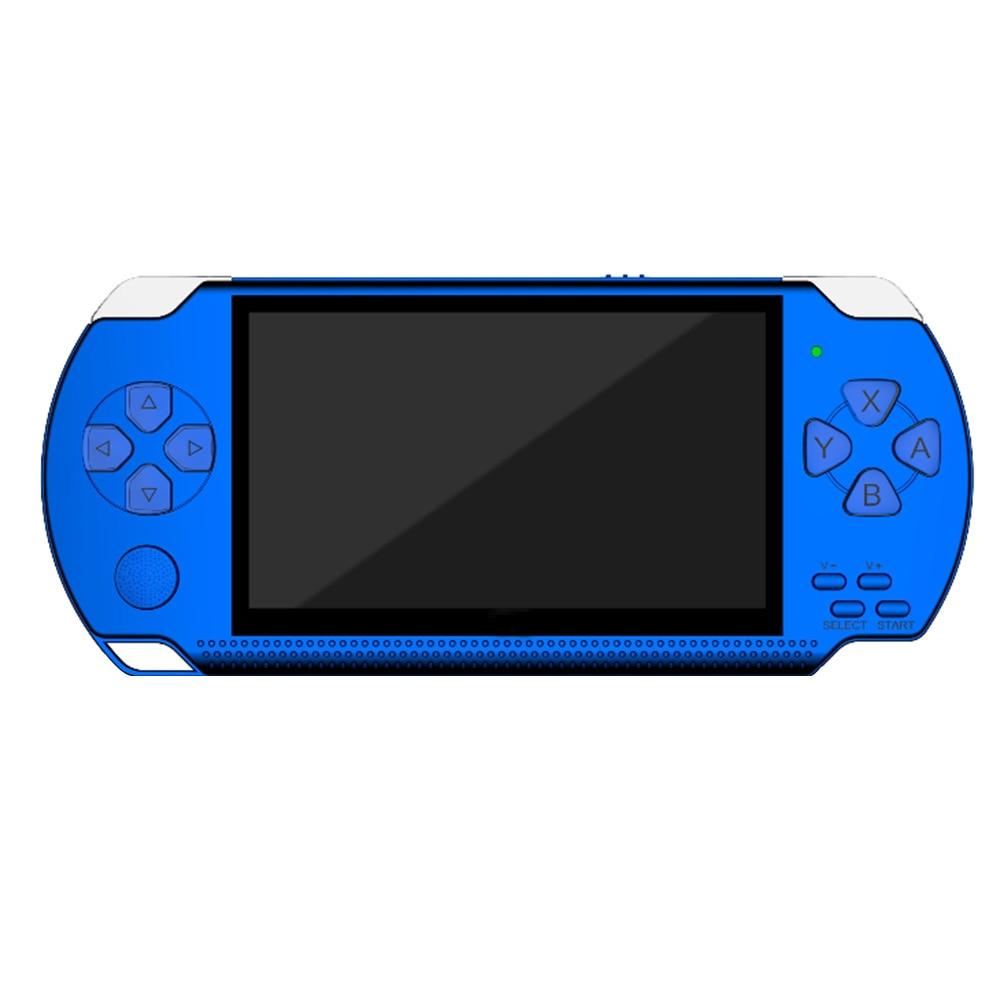 """4,3 """"Tragbare Wiederaufladbare Multifunktions Kinder HD Retro Einfache Bedienung Spiel Konsole Spaß Tasche Größe Handheld Player 8G Große bildschirm"""