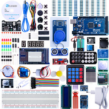Elegoo Arduino Pro Mega 2560 R3 Project The Most Complete Ultimate Starter Kit w TUTORIAL for Arduino UNO Nano EL-KIT-008 keyestudio w5100 ethernet щит для arduino uno r3 mega 2560