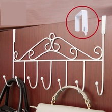 European style creative wrought iron door hook hanger simple bedroom clothes tree hanging clothes rack not fall to the ground