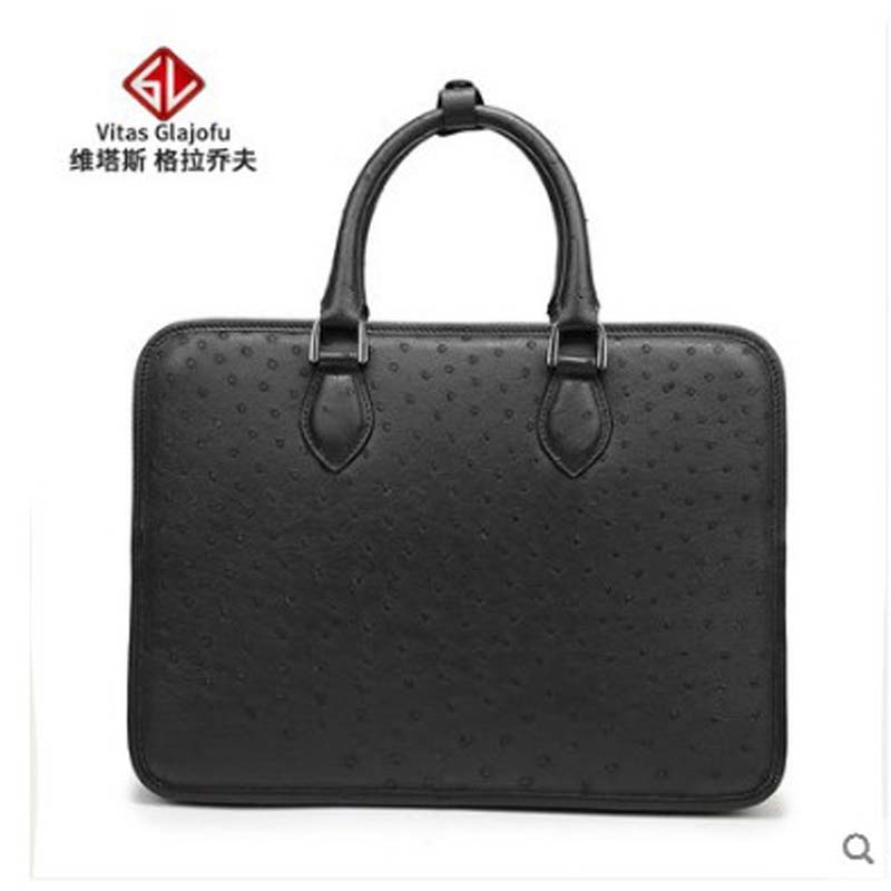 weitasi Ostrich skin handbag for men inclined cross bag leisure mens bagweitasi Ostrich skin handbag for men inclined cross bag leisure mens bag