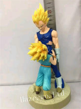 2 Pcs Dragonball Z Vegeta DramaticShowcase 4nd Temporada & Troncos Figura Estatueta(China)