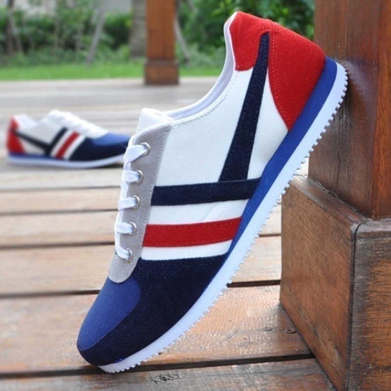 2019 neue Männer Casual Schuhe Lac-up Männer Schuhe Leichte Komfortable Atmungsaktive Wanderschuhe Turnschuhe Tenis Feminino Zapatos