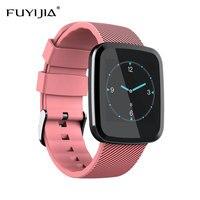 FUYIJIA New Bluetooth Smart Watch Woman Men Watches Female Sports Watch Waterproof Sleep Heart Rate Monitoring Relogio Feminino