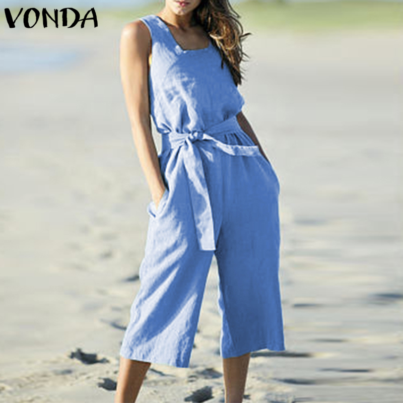4d560662638d7 Detail Feedback Questions about VONDA Rompers Womens Jumpsuit Maternity  Clothes 2018 Summer Playsuits Pregnancy Solid Wide Leg Pants Pregnant Casual  ...