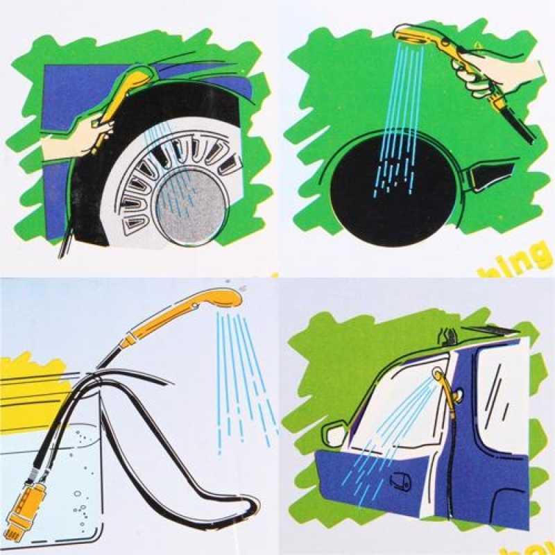 Araba Yıkama 12 V Kamp Duş DC Taşınabilir Araba Duş Yıkama Seti Elektrikli Pompa Açık Kamp Seyahat Pet Köpek Adam kadın